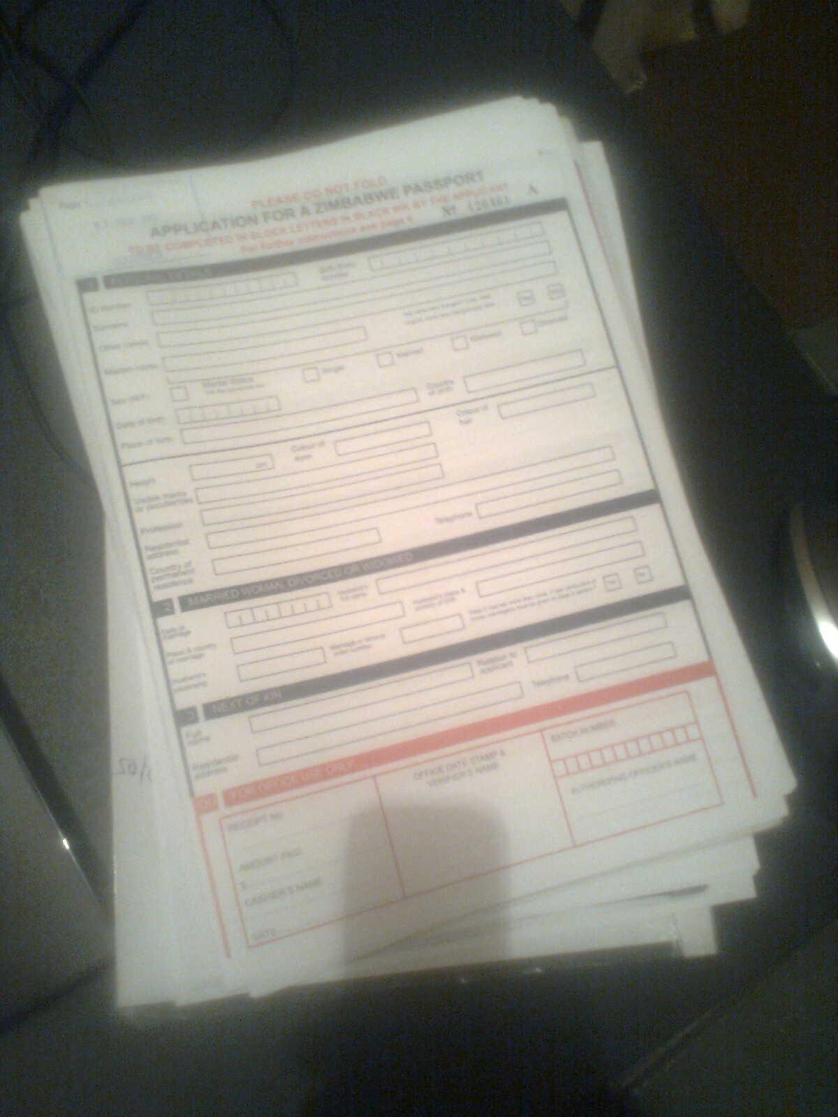 Getting a zimbabwean passport outside zimbabwe zimdev passport application form falaconquin